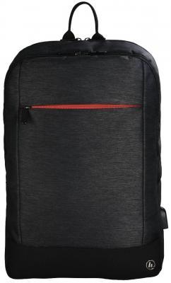 """Рюкзак для ноутбука 17.3"""" HAMA Manchester полиэстер черный 00101891"""