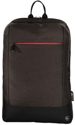 """Рюкзак для ноутбука 17.3"""" HAMA Manchester полиэстер коричневый 00101893"""