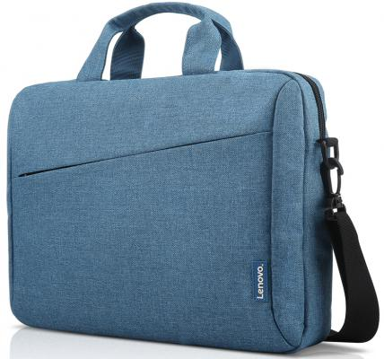 Сумка для ноутбука 15.6 Lenovo Toploader T210 полиэстер синий GX40Q17230 new briefcase bags for lenovo thinkpad tl410 laptop bag 1515 6 inch sleeve messenger handbag shoulder sags toploader leather