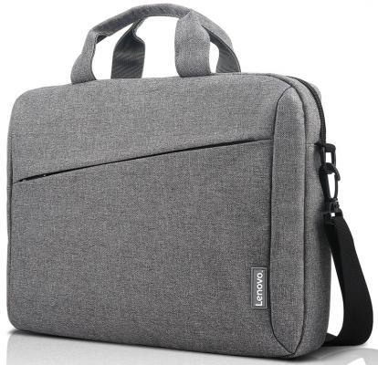 "Сумка для ноутбука 15.6"" Lenovo Toploader T210 полиэстер серый GX40Q17231 цена и фото"