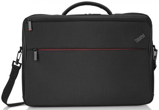 Сумка для ноутбука 15.6 Lenovo ThinkPad Professional нейлон черный 4X40Q26385 рюкзак для ноутбука 15 6 lenovo thinkpad professional полиэстер черный 4x40q26383