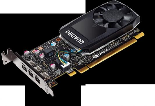 Видеокарта Dell PCI-E NVIDIA Quadro P400 nVidia Quadro P400 2048Mb DDR3/mDPx4/HDCP oem  - купить со скидкой