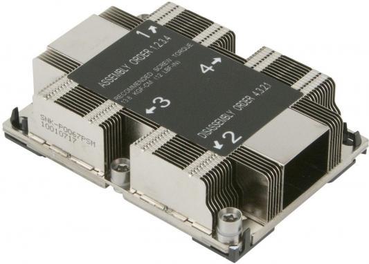 Радиатор SuperMicro SNK-P0067PSMB Heat Sink Socket LGA3647-0