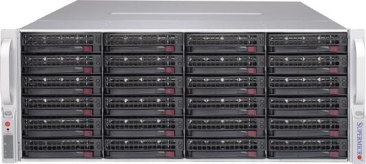Серверный корпус 4U Supermicro CSE-847E2C-R1K28JBOD 2 х 1280 Вт чёрный цена