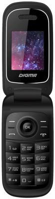 Мобильный телефон Digma A205 2G черный 1.77 8 Мб из ремонта мобильный телефон zte r341 черный 1 8 32 мб