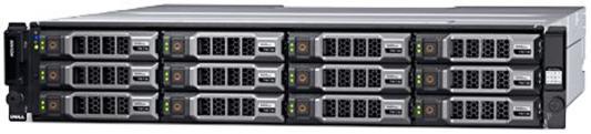 Дисковый массив Dell MD3800f x12 2x4Tb 7.2K 3.5 NL SAS 2x600W PNBD 3Y 4x16G SFP/2xCtrl 8Gb Cache (210-ACCS-29)