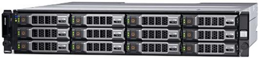 Дисковый массив Dell MD3800f x12 2x4Tb 7.2K 3.5 NL SAS RAID 2x600W PNBD 3Y 4x16G SFP/4Gb Cache (210-ACCS-30) дисковый массив dell powervault md1200 210 30719 060