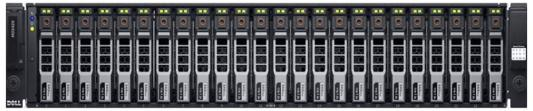 Дисковая полка Dell PowerEdge MD1420 x24 2x600Gb 10K 2.5 SAS 2x600W PNBD 3Y /H830 LP /2x2m Cab SAS HD-Mini to HD-Mini (210-ADBP-12)