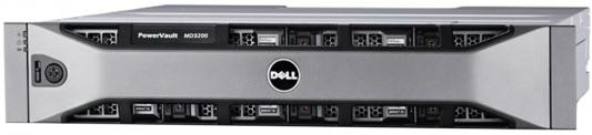 Дисковый массив Dell PV MD3400 x12 3.5 2x600W PNBD 3Y 2xController, 12G SAS, 2U MD34xx, 4GB Cache (210-ACCG-27)