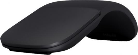 лучшая цена Мышь Microsoft ARC Touch черный оптическая (1000dpi) беспроводная USB (3but)