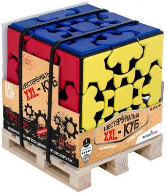 Купить Головоломка MEFFERTS M5888 Шестеренчатый XXL-Куб, Головоломки для детей