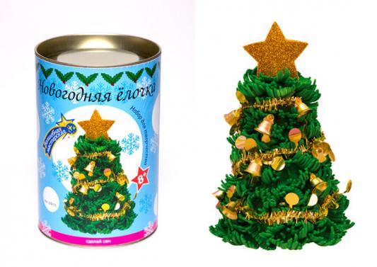 Набор для творчества Волшебная мастерская Новогодняя ёлочка с украшениями от 8 лет кухонное приспособление 8 в 1 волшебная бутылка