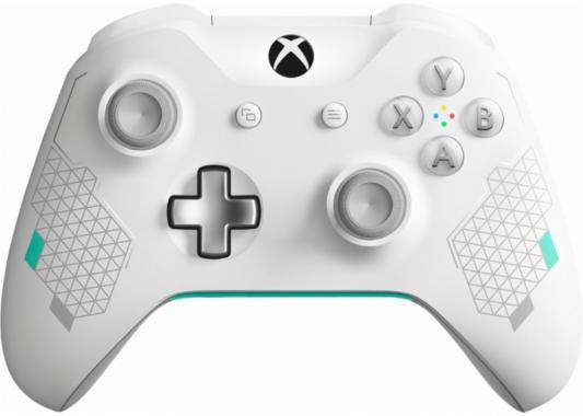 Геймпад Беспроводной Microsoft Sport White WL3-00083 белый для: Xbox One (WL3-00083) геймпад microsoft xbox one controller combat tech bluetooth wl3 00090