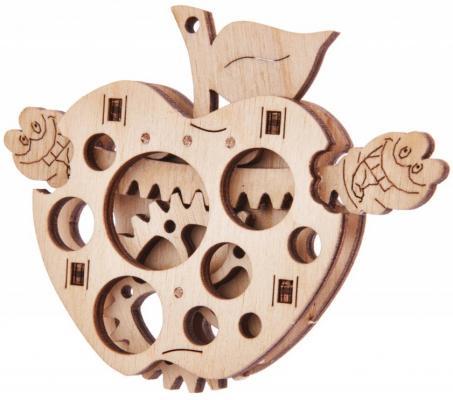 Пазл 3D WOOD TRICK 1234-W4 Вудик Яблоко 11 элементов