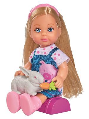 Купить Игровой набор Evi Счастливая ферма, ПВХ, текстиль, пластик, Классические куклы и пупсы