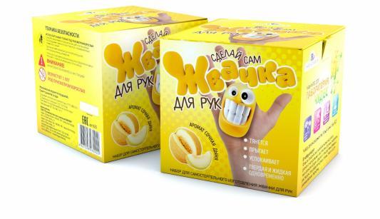 Набор для опытов Инновации для детей Жвачка для рук.Сочная дыня набор для опытов пк висма жвачка для рук сочная дыня