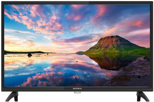 Телевизор Supra STV-LC32LT0080W черный телевизор supra lc40t500wl черный