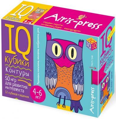 Развивающий набор АЙРИС-пресс Умные кубики кубики айрис пресс iq кубики учимся читать 26871