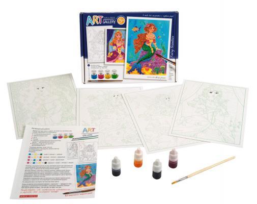 Набор для творчества АЙРИС-ПРЕСС Сказочные красавицы.Средний набор от 5 лет айрис пресс рассуждаем вместе с мамой отгадай ка 3 5 лет 288 игр в коробке 62809