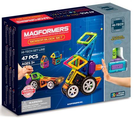 Магнитный конструктор Magformers Sensor Block Set 47 элементов цена