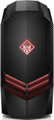 HP Omen 880-135ur (see-through door) AMD Ryzen 7 2700X(Ghz)/32768Mb/128PCISSD+1000Gb/DVDrw/Ext:nVidia GeForce GTX1080(8192Mb)/war 3y/Black/W10 + USB KBD, USB MOUSE mock neck see through checkered bodysuit