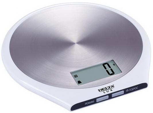 Весы кухонные DELTA КСЕ-42-21 белый весы кухонные delta ксе 42 21 белый