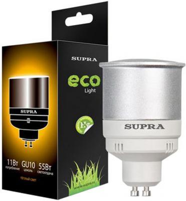 Лампа люминесцентная Supra SL-R-11/2700/GU10 supra sl tl324