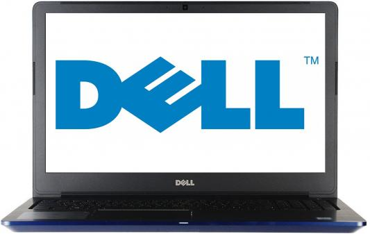 Ноутбук Dell Vostro 5568 i5-7200U (2.5)/4G/1T/15,6FHD AG/NV GTX940MX 2G/noODD/Backlit/Win10 (5568-7226) Blue ноутбук dell m531 m531r 1828 a8 m431 5435 2g