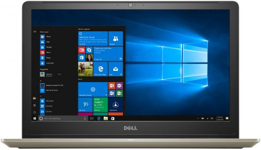 Ноутбук Dell Vostro 5568 i5-7200U (2.5)/4G/1T/15,6FHD AG/NV GTX940MX 2G/noODD/Backlit/Win10 (5568-7233) Gold ноутбук dell m531 m531r 1828 a8 m431 5435 2g