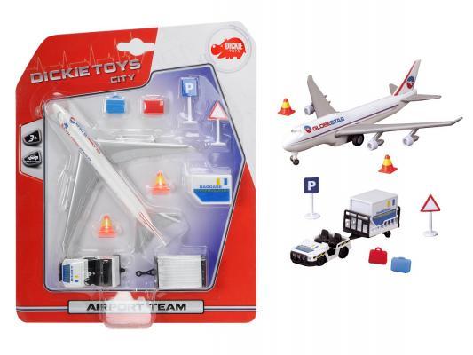 Игровой набор Dickie Аэропорт 6 шт игрушка dickie toys набор машинок 3745000