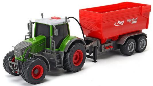 Трактор Dickie Fendt разноцветный 41 см dickie toys трактор fendt с прицепом