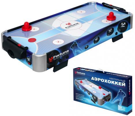Купить Настольная игра FORTUNA 07748 Аэрохоккей HR-31 Blue Ice Hybrid, 930x490x150 мм, Спортивные настольные игры