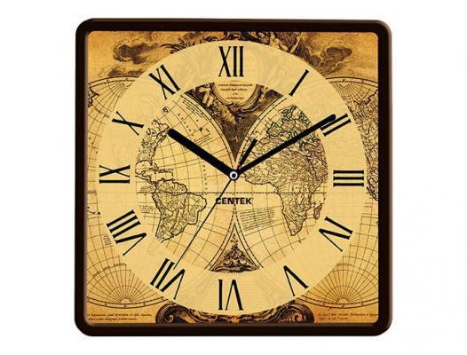 Часы настенные Centek СТ-7103 Map beijing top 10 map