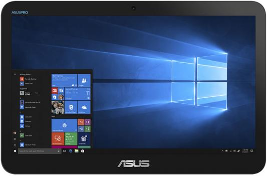 Моноблок Asus V161GAT-BD025D 15.6 HD Touch Cel N4000 (1.1)/4Gb/SSD128Gb/CR/Endless/GbitEth/WiFi/BT/Cam/черный 1366x768 моноблок asus vivo aio v241icuk 90pt01w1 m19250 23 8 черный