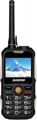 цена на Мобильный телефон Digma A230WT 2G Linx 32Mb черный моноблок 2Sim 2.31 240x320 BT GSM900/1800 Ptotect MP3 FM microSD max8Gb