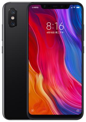 Смартфон Xiaomi Mi 8 64 Гб черный смартфон oukitel wp2 64 гб черный