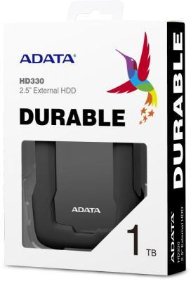 Фото - Жесткий диск A-Data USB 3.0 1Tb AHD330-1TU31-CBK HD330 DashDrive Durable 2.5 черный жесткий диск a data usb 3 0 1tb ahd680 1tu31 cbk hd680 dashdrive durable 2 5 черный