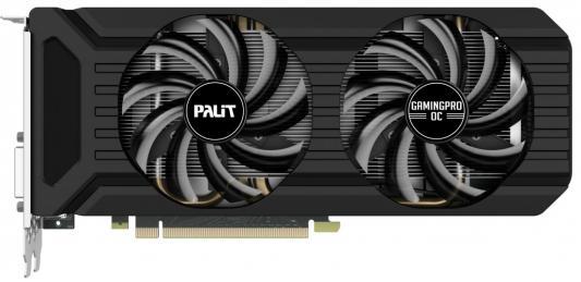 Видеокарта Palit PCI-E PA-GTX1060 Gaming Pro OC+ 6G nVidia GeForce GTX 1060 6144Mb 192bit GDDR5 1708/8800 DVIx3/HDMIx1/DPx1/HDCP Ret цена и фото
