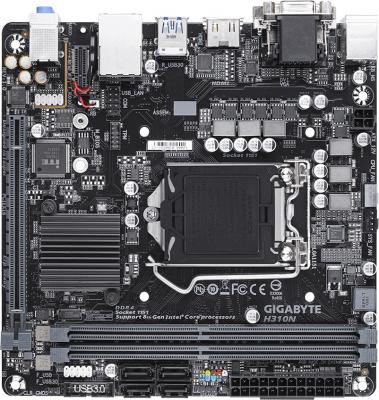Материнская плата GigaByte H310N Socket 1151 H310 2xDDR4 1xPCI-E 16x 4 mini-ITX