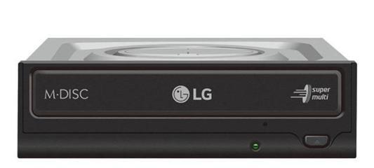 Привод DVD-RW LG GH24NSD5 черный SATA внутренний привод dvd rw lg gtc0n черный sata slim