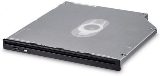 Привод DVD-RW LG GS40N черный SATA slim внутренний oem привод оптический dvd±r ±rw lg gud0n slim 9 5mm black sata