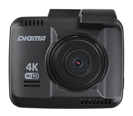 Видеорегистратор Digma FreeDrive 600-GW DUAL 4K черный 4Mpix 2160x2880 2160p 150гр. GPS NTK96660
