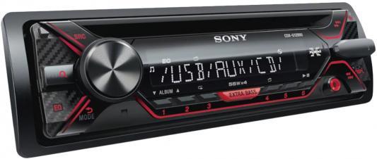 Автомагнитола CD Sony CDX-G1302U 1DIN 4x55Вт цены