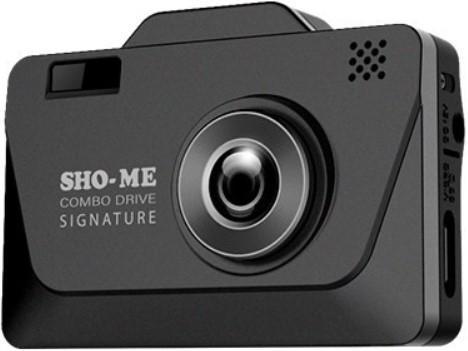 Радар-детектор Sho-Me Combo Drive Signature Видеорегистратор GPS приемник G-сенсор