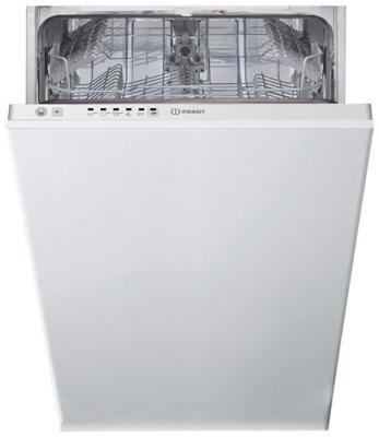 Посудомоечная машина Indesit DSIE 2B10 узкая белый машина посудомоечная встр indesit dsic 3t117 45см 10комп 9прог