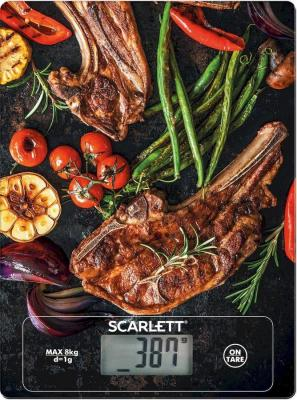 Весы кухонные Scarlett SC-KS57P39 рисунок цена и фото