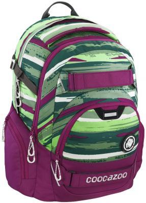 Школьный рюкзак светоотражающие материалы Coocazoo CarryLarry2: Bartik 30 л розовый зеленый 00138735 hama сумка coocazoo hangdang peacoat