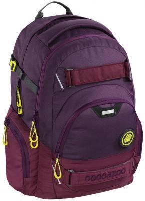 Школьный рюкзак светоотражающие материалы Coocazoo CarryLarry2: Berryman 30 л бордовый 00138732 рюкзак светоотражающие материалы coocazoo jobjobber2 checkered bolts 30 л рисунок 00129887