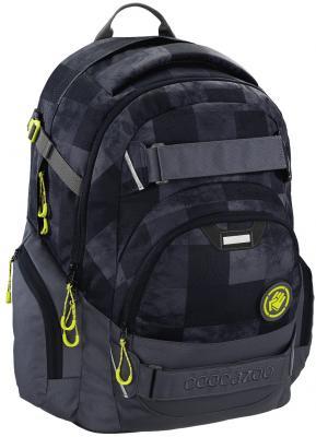 Школьный рюкзак светоотражающие материалы Coocazoo CarryLarry2: Mamor Check 30 л черный серый 00138738 ключ yato yt 4920