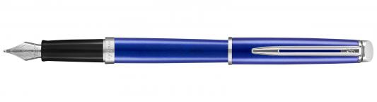 Перьевая ручка Waterman Hemisphere Bright Blue CT F 2042967 ручка шариковая waterman hemisphere s0920670 mars